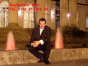 Aktuelles Foto von mir. Alleinunterhalter und DJ Keyboarder Karl