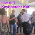 Alleinunterhalter Keyboarder Karl mit Oliver Pocher in Bergheim