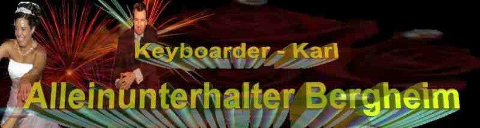 Alleinunterhalter Bergheim und DJ Bergheim