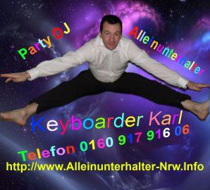Verrückter Alleinunterhalter NRW