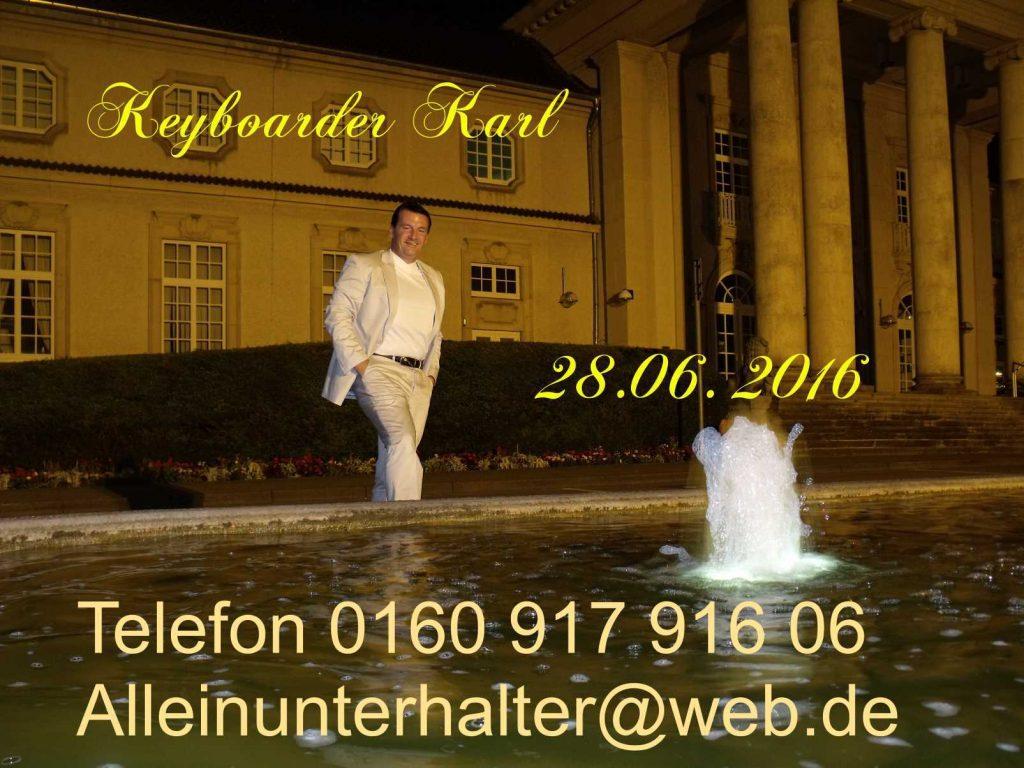 Alleinunterhalter Bergheim mit kompletter Anlage für Hochzeit, Geburtstag Stadtfest und Firmen Feier in Bergheim mit live Musik und DJ