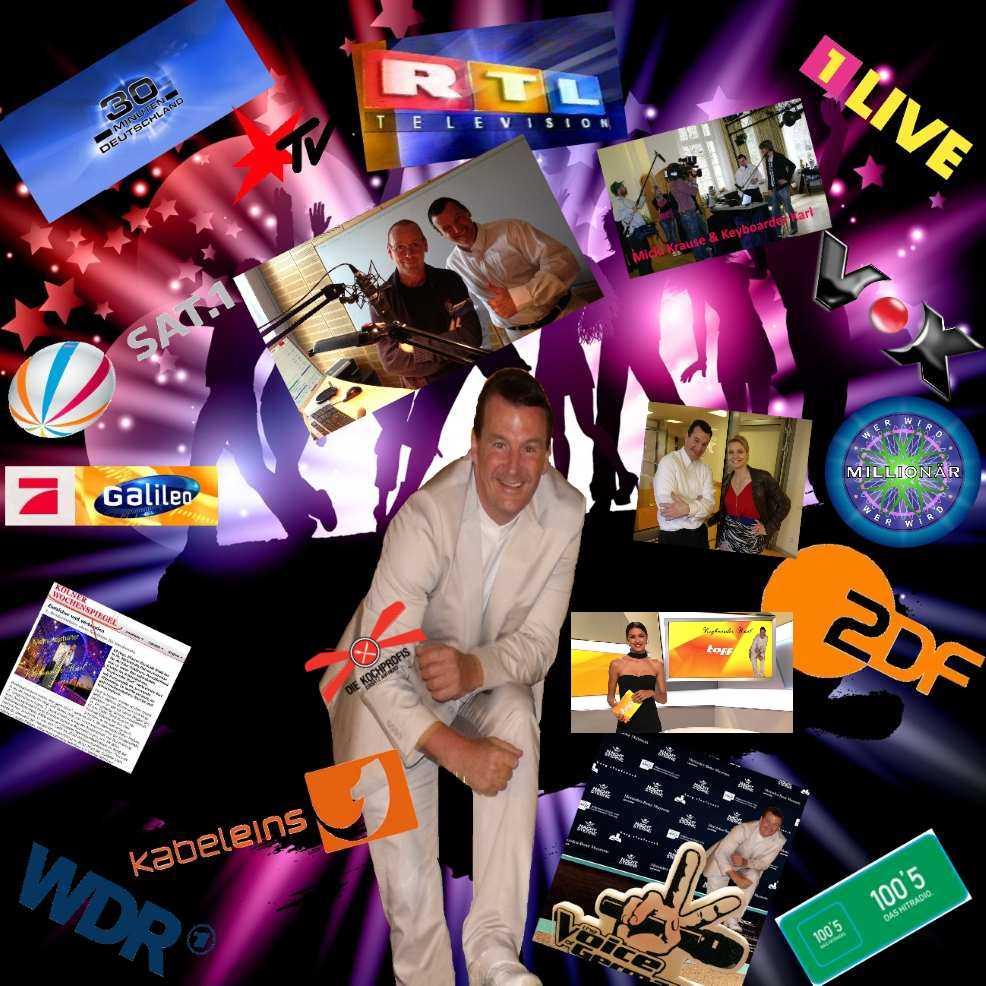 Alleinunterhalter Bergheim mit Live Musik und Party DJ sowie kompletter Musik und Licht Technik