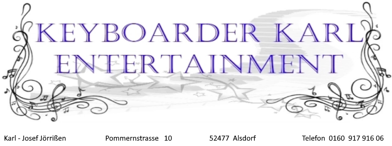 Keyboarder Karl - Entertainment der Spitzenklasse